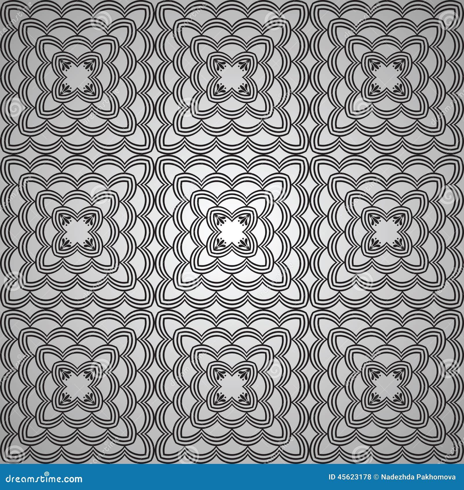 vintage seamless pattern stock vector
