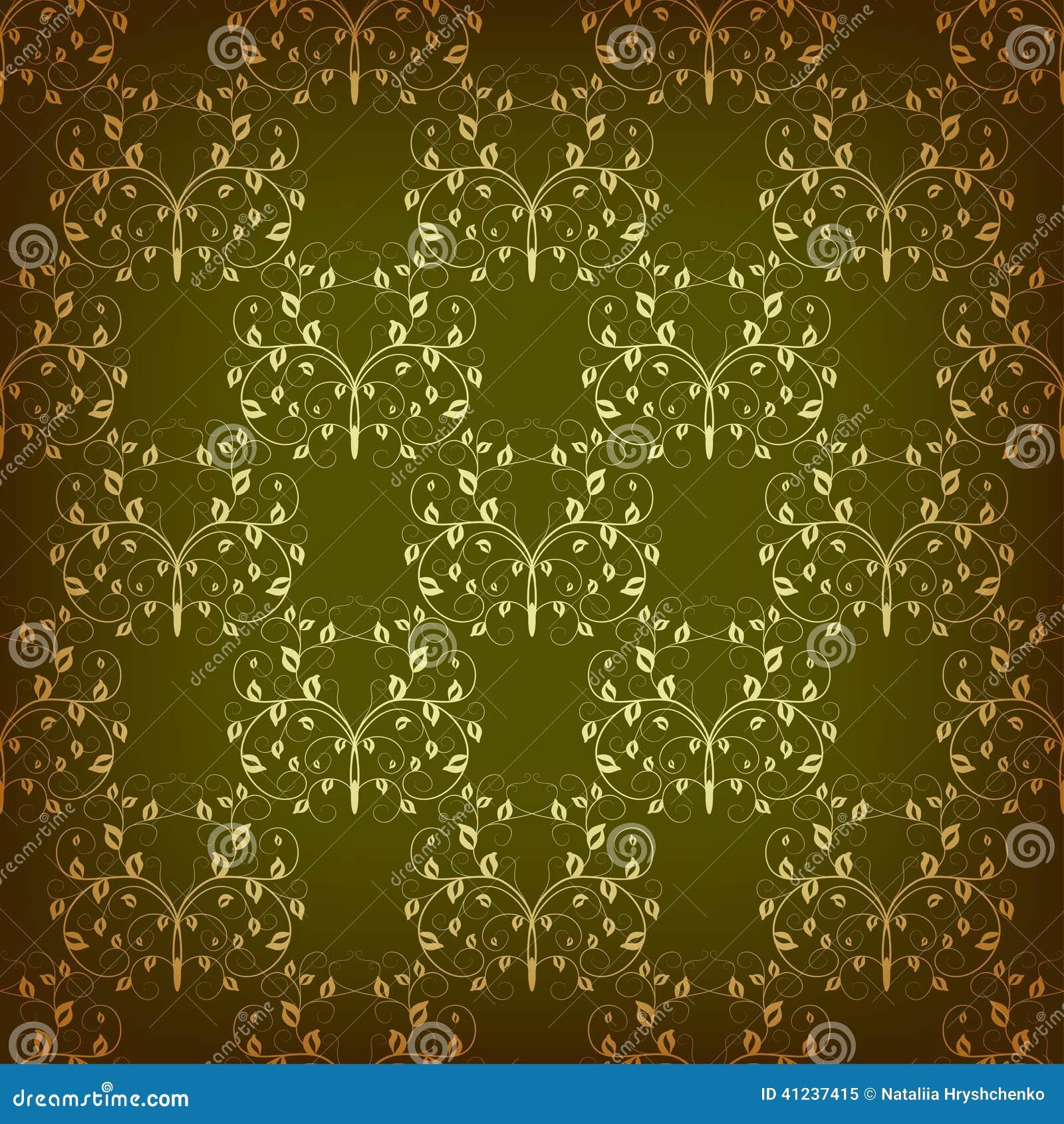 swirling royal pattern wallpaper - photo #15