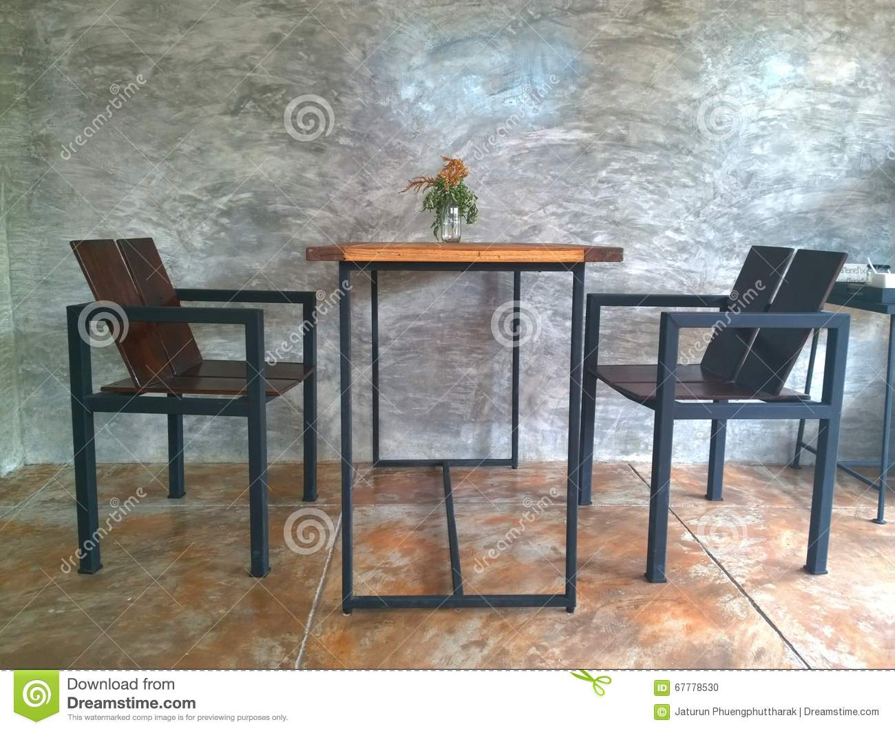 Terrific The Vintage Set Coffee Table With Plaster Wall Bare Lamtechconsult Wood Chair Design Ideas Lamtechconsultcom
