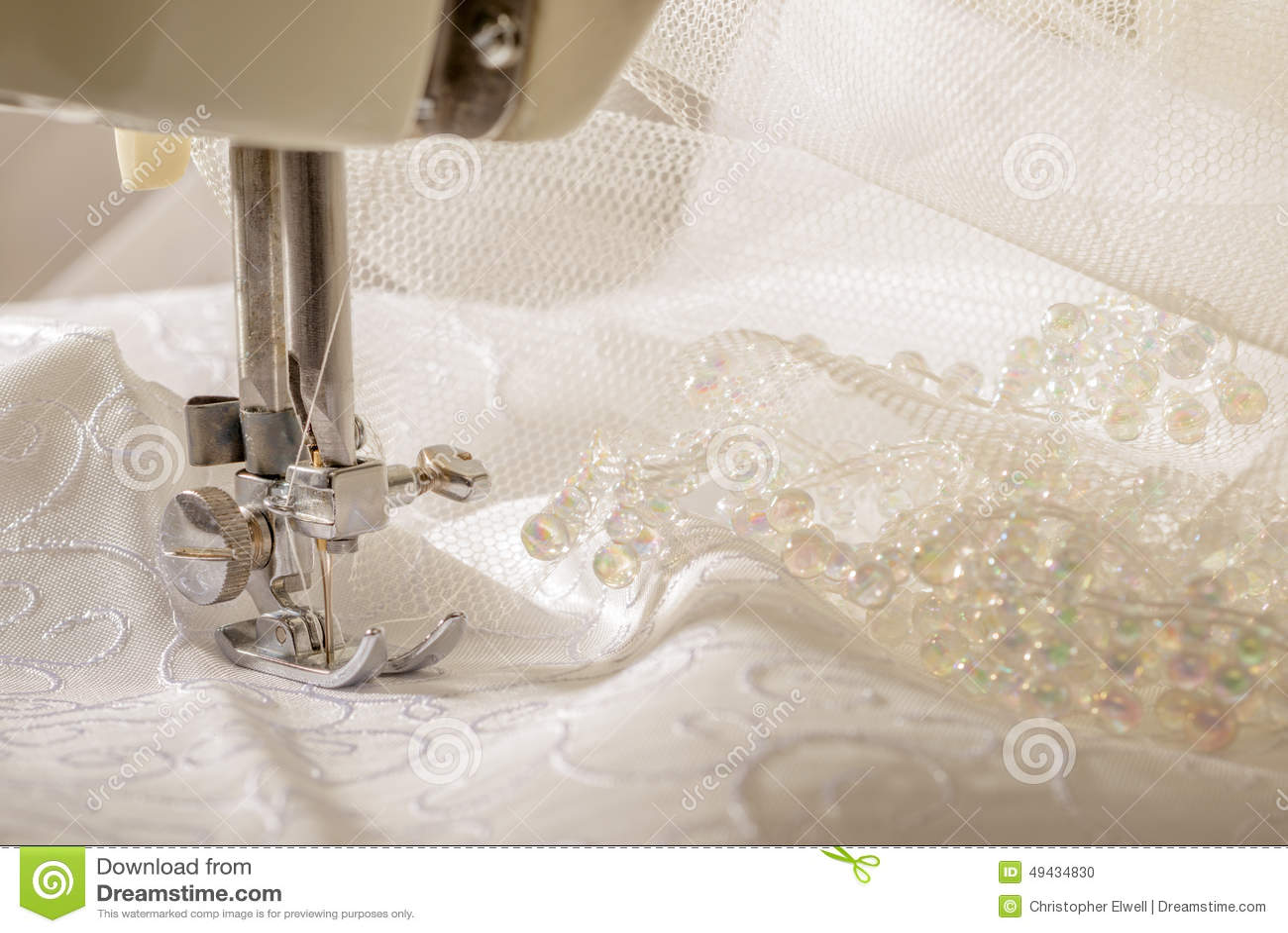 vintage sewing machine stock photo image of bridal ivory