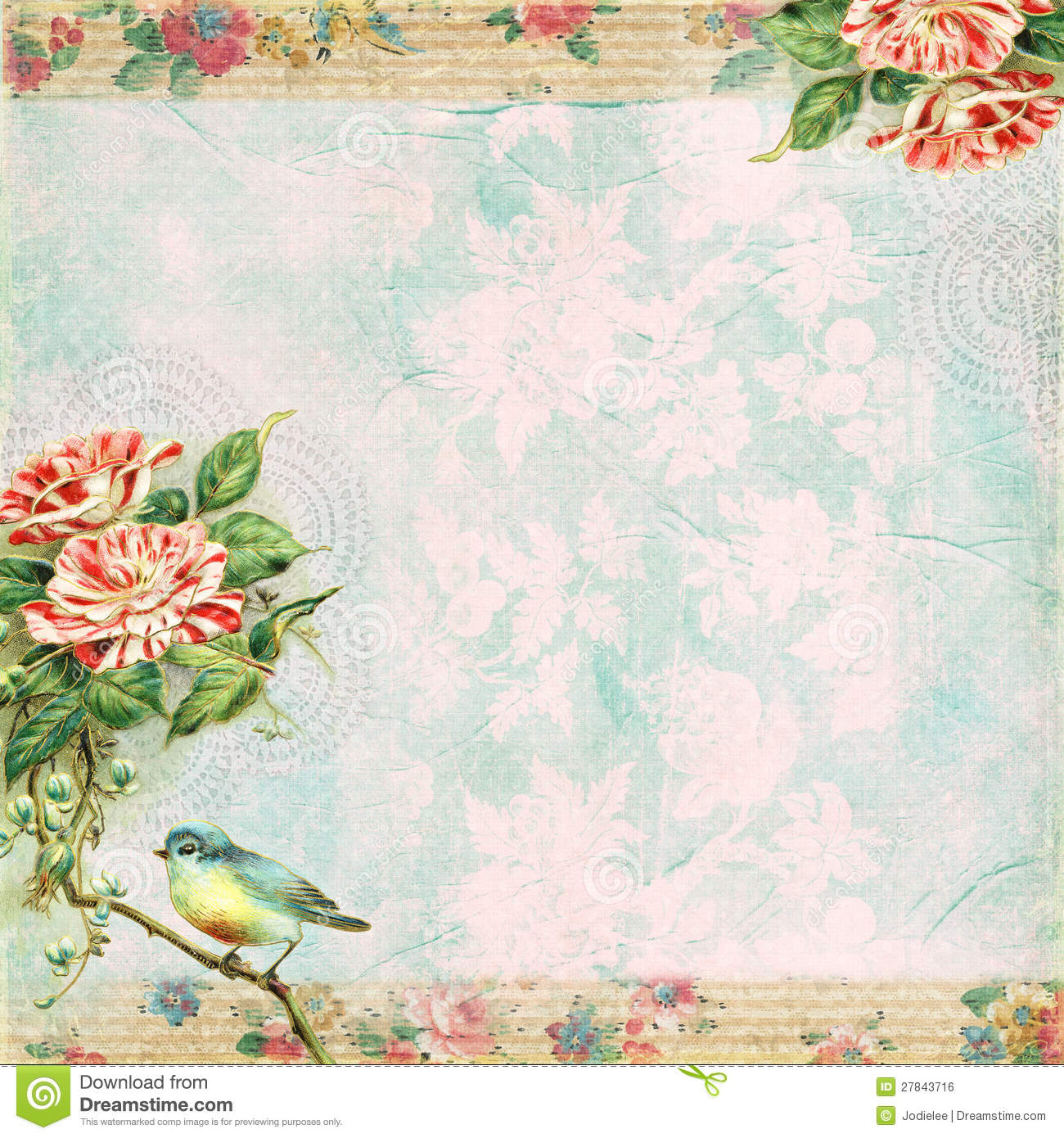 the gallery for gt vintage birds backgrounds