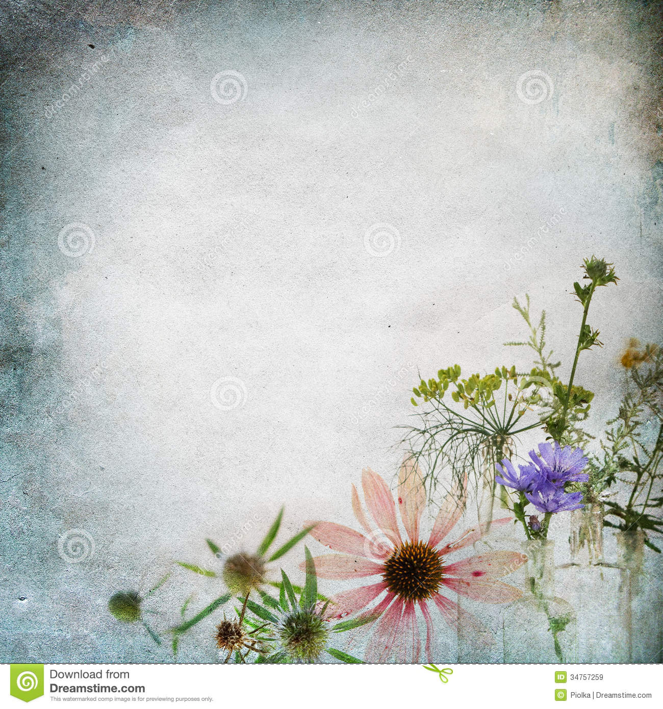 Vintage Shabby Chic Background Stock Image Image 34757259