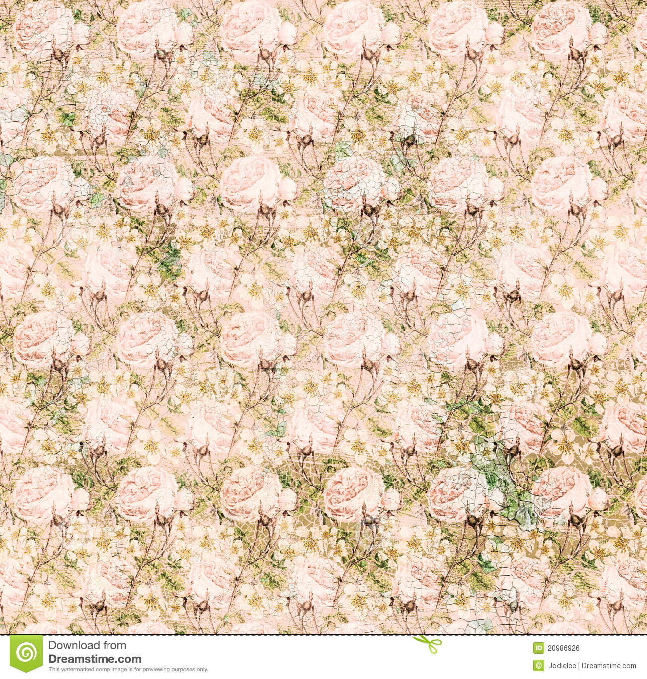 Vintage shabby pink chic rose background texture stock - Papel vintage pared ...