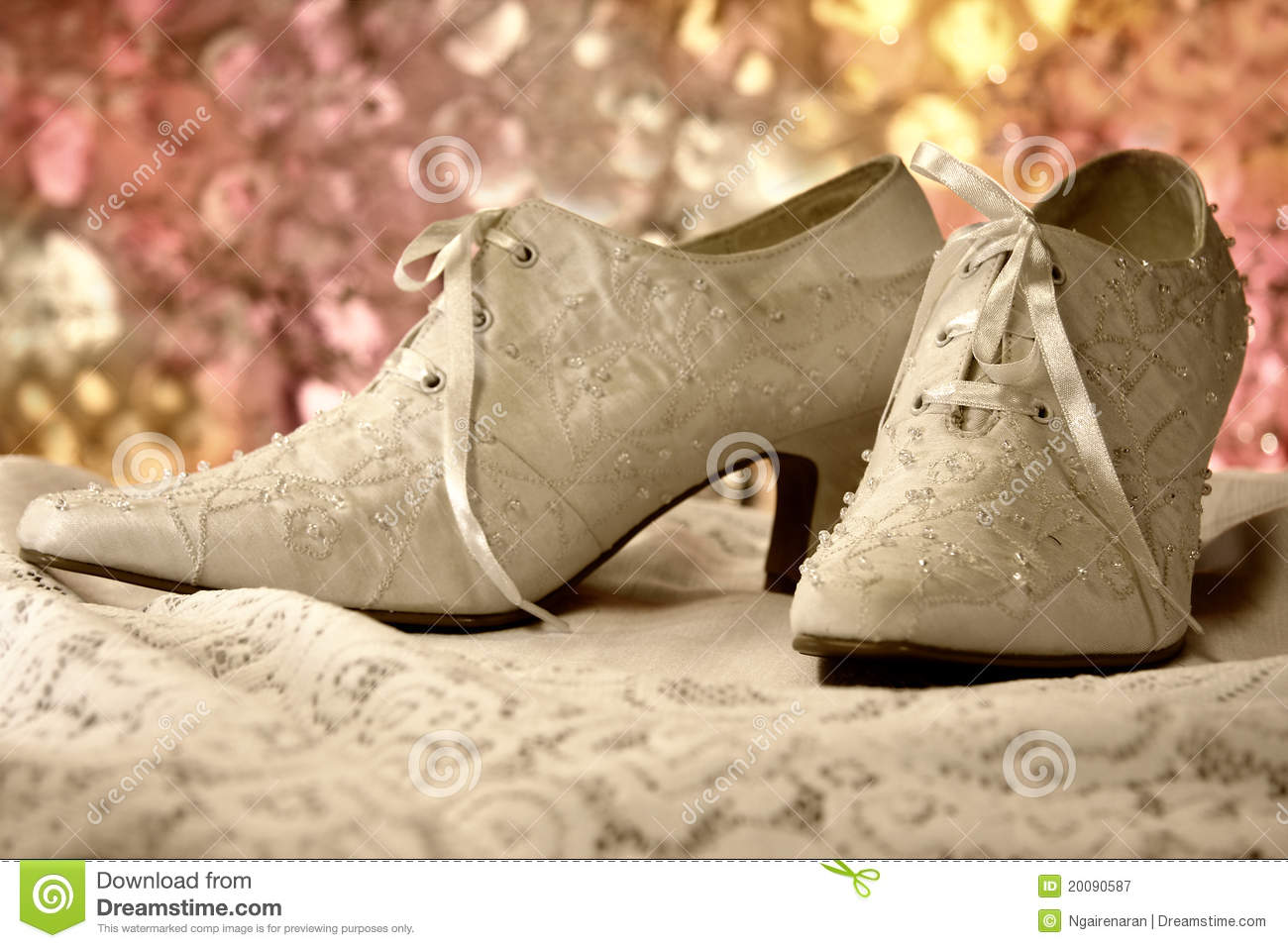 Old Fashioned Wedding Shoes