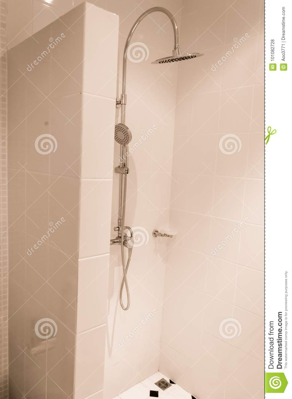 Vintage shower head stock photo. Image of house, decorative - 101082728
