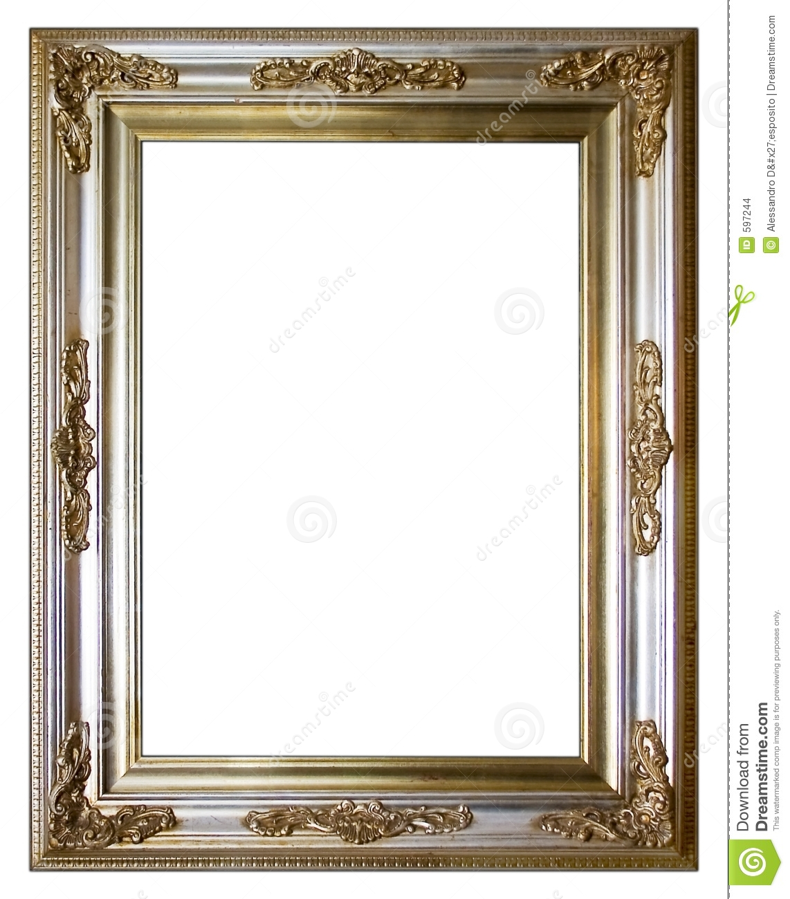 More similar stock images of ` Vintage silver frame `