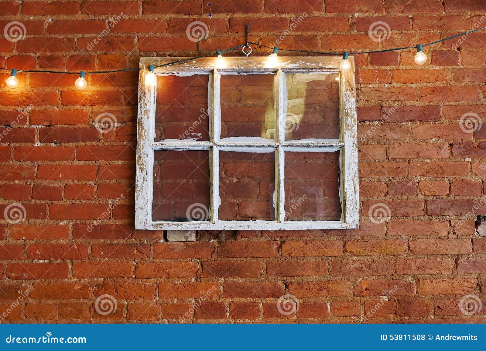Vintage Six Pane Window Stock Photo - Image: 53811508