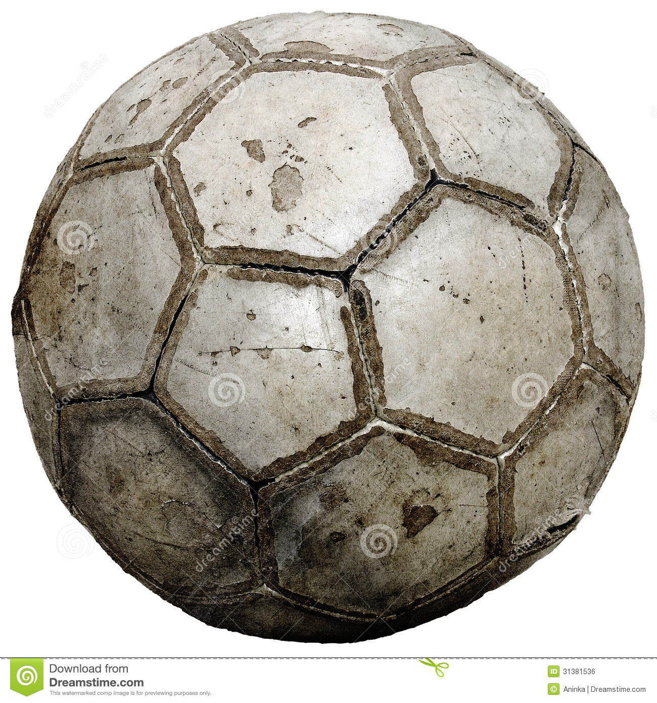 Vintage Soccer Ball Royalty Free Stock Image Image 31381536