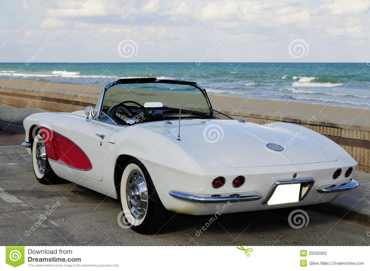 Vintage Sports Car Stock Photography  Image: 20585902