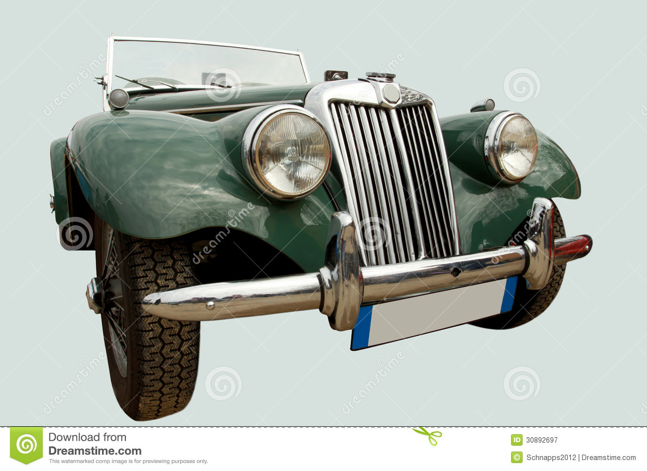 Vintage Sports Car Royalty Free Stock Photography  Image: 30892697