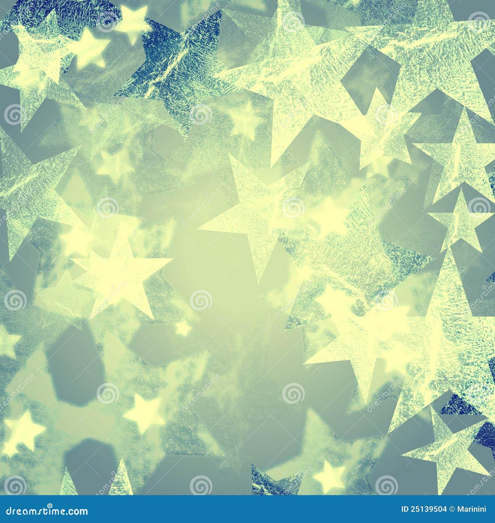 Vintage Stars Background Stock Images - Image: 25139504