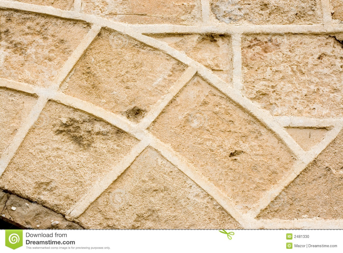 Vintage Stone Walls : Vintage stone wall stock photo image of pattern