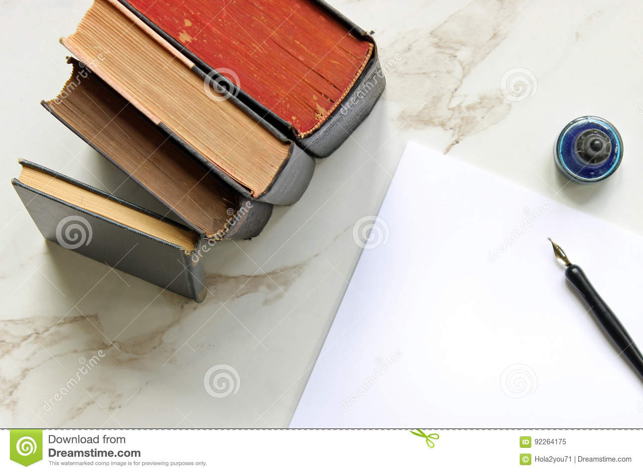Vintage story stock image. Image of books, biography ...