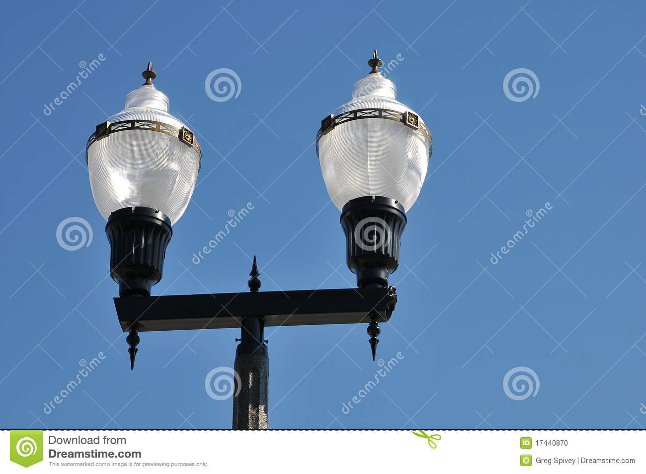 Download Vintage street lamp stock photo. Image of object, artistic - 17440870