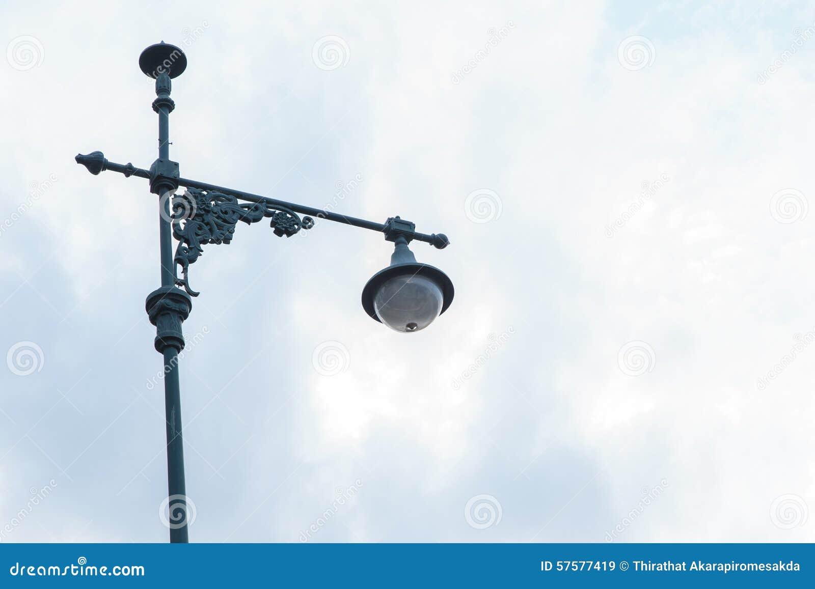 vintage street lights stock image image of road lamppost 57577419
