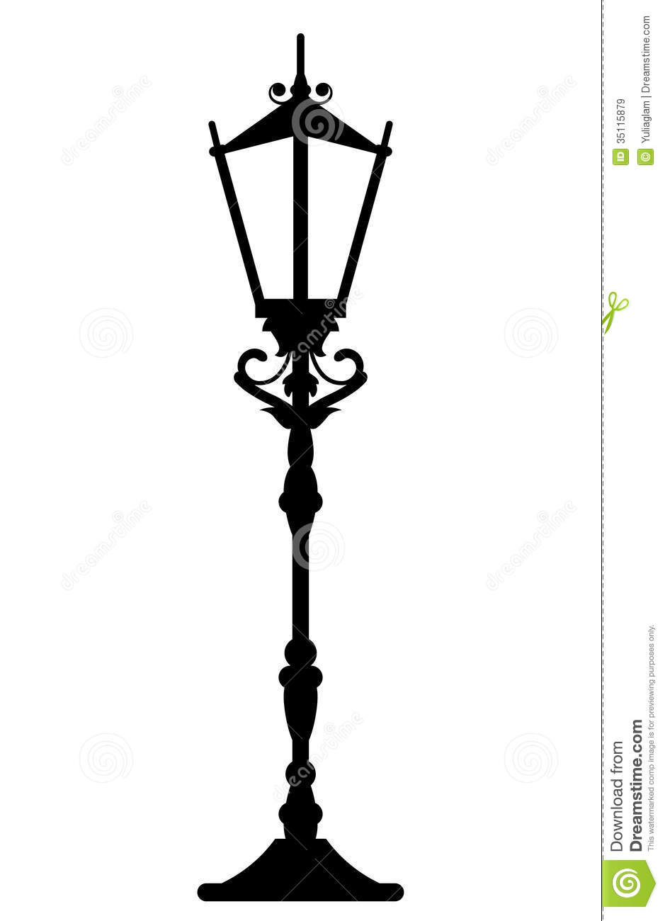 Vintage Streetlight Royalty Free Stock Images - Image: 35115879