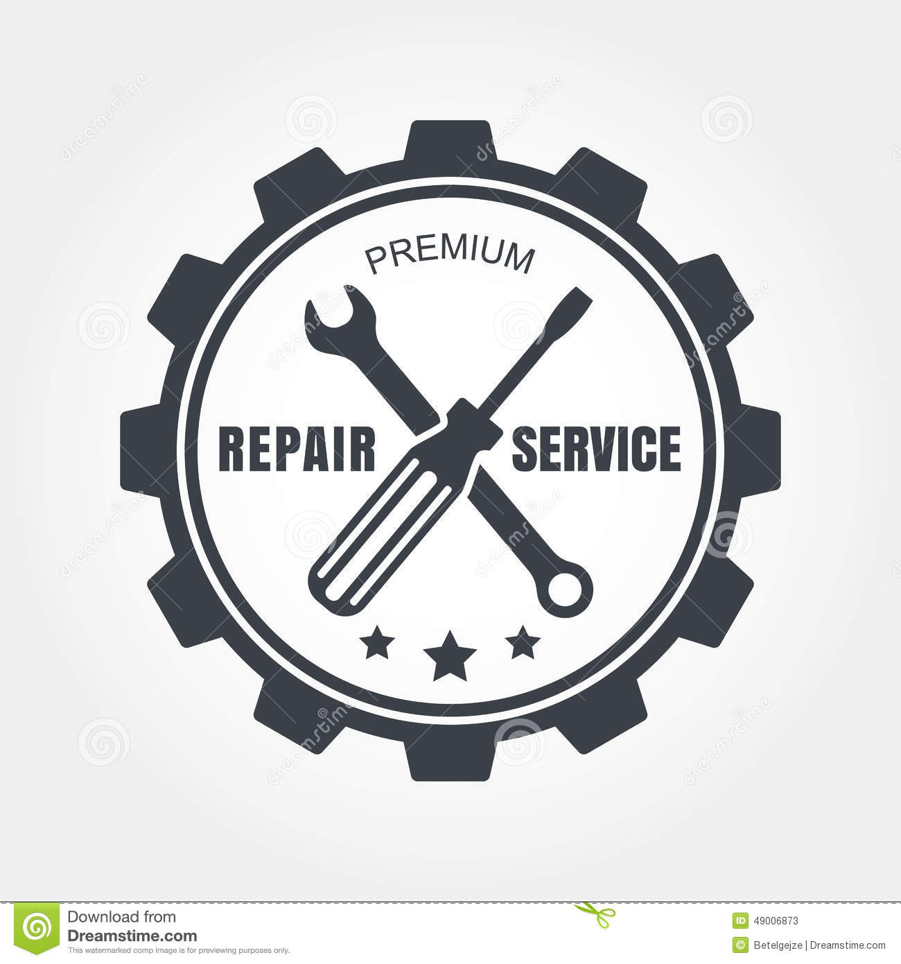 Stock Illustration Vintage Style Car Repair Service Label Vector Logo Design Templ Template Image49006873 on gear template clip art