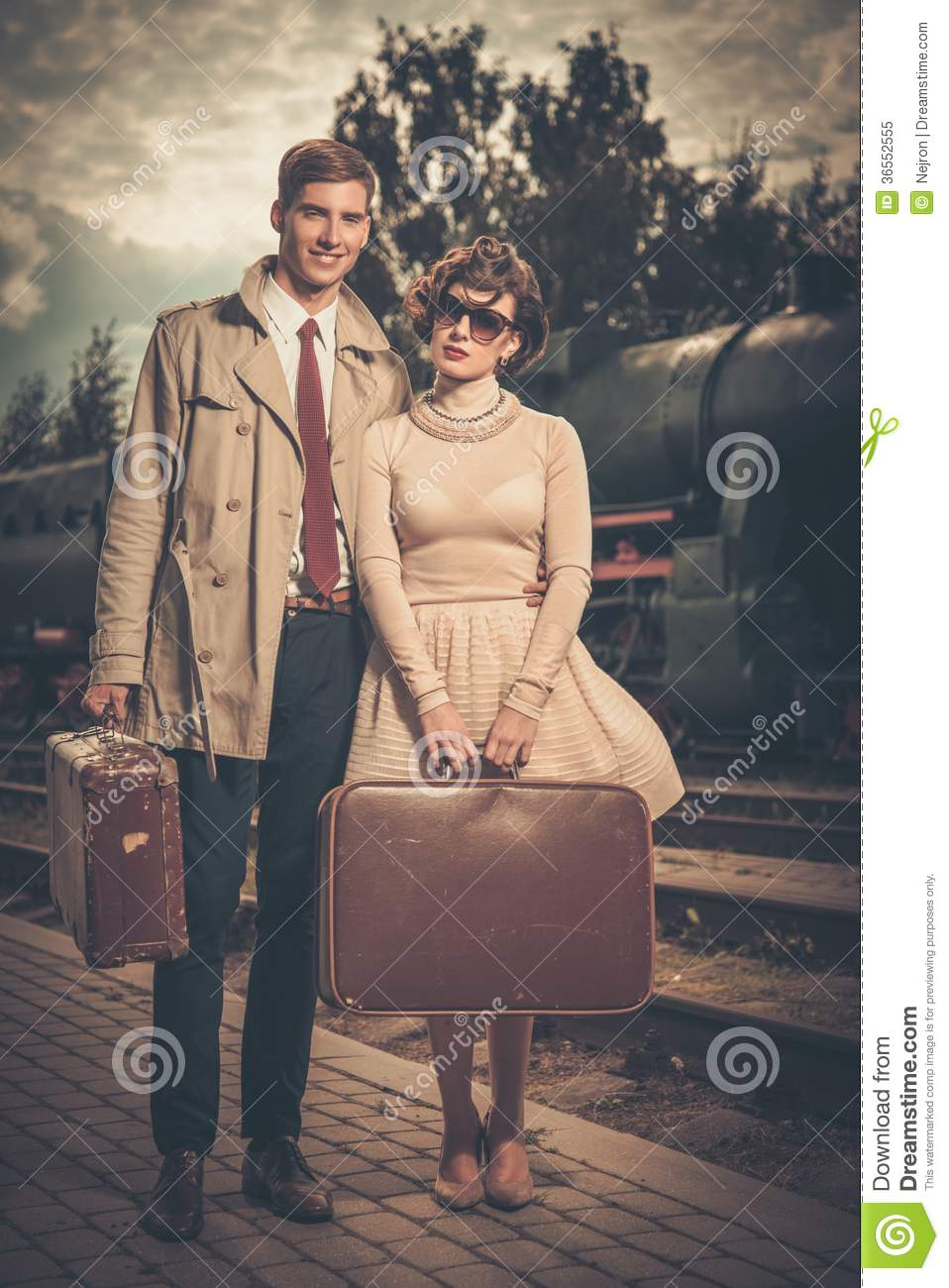 Vintage Style Prom Couples
