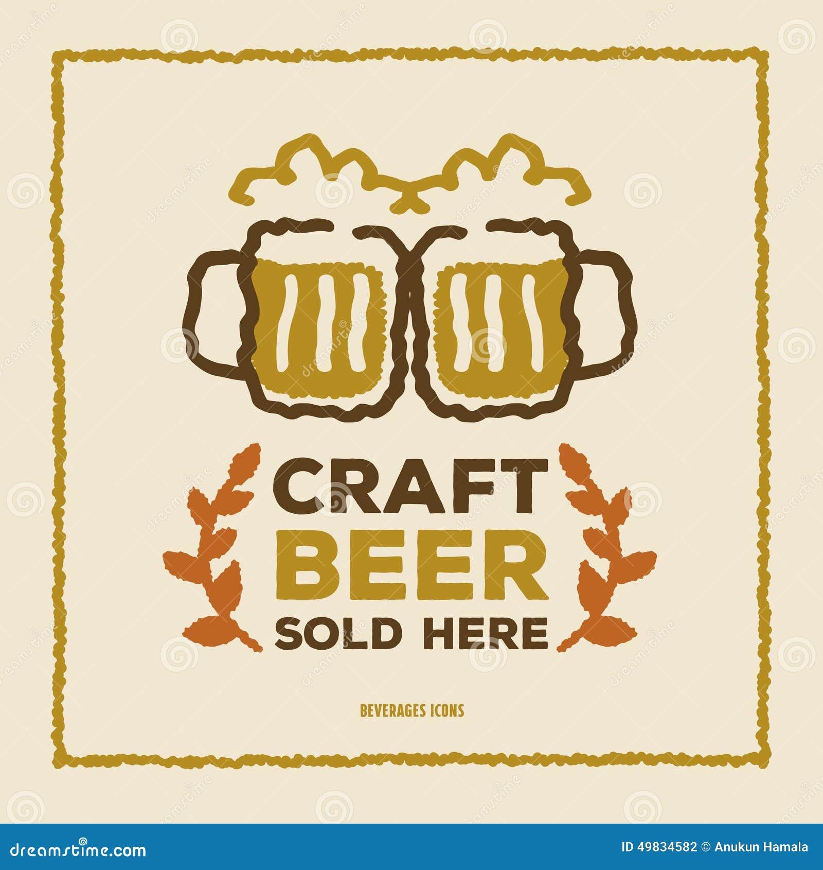Craft Beer Poster Design