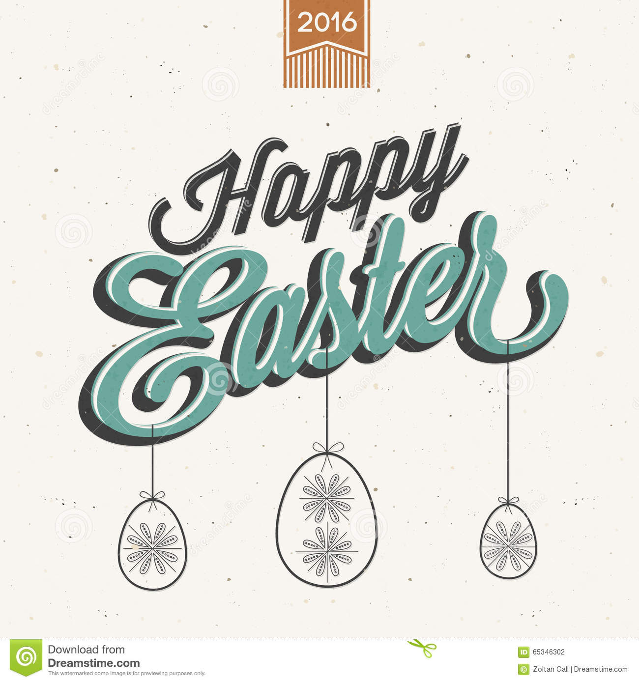 Vintage style easter greeting card stock vector illustration of vintage style easter greeting card m4hsunfo