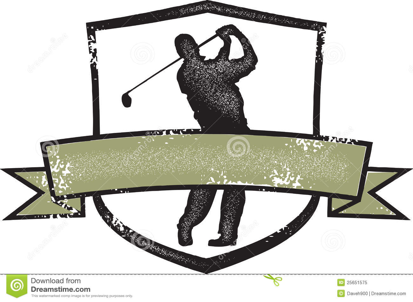 vintage golf clip art - photo #20