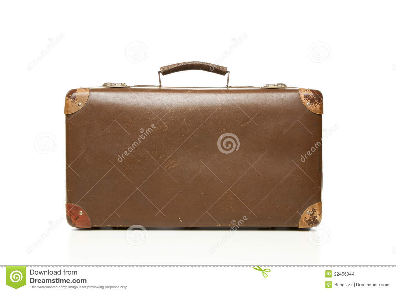 Vintage suitcase royalty free stock photography for The vintage suitcase