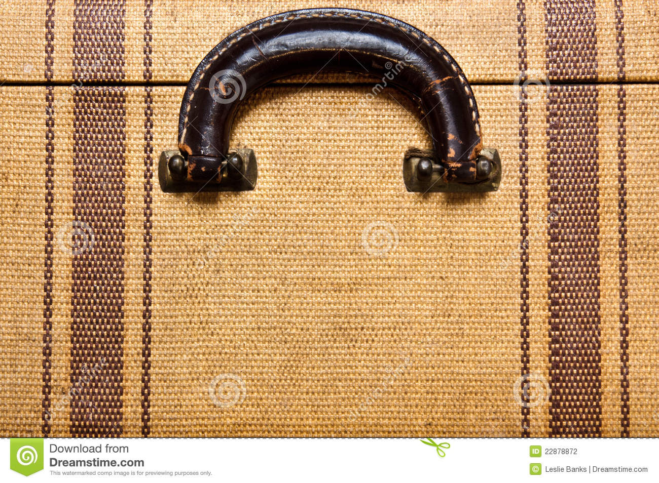Vintage Suitcase Handle Stock Photography - Image: 22878872