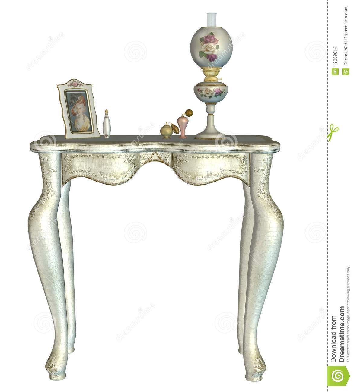 Vintage Table Stock Images Image 19008614