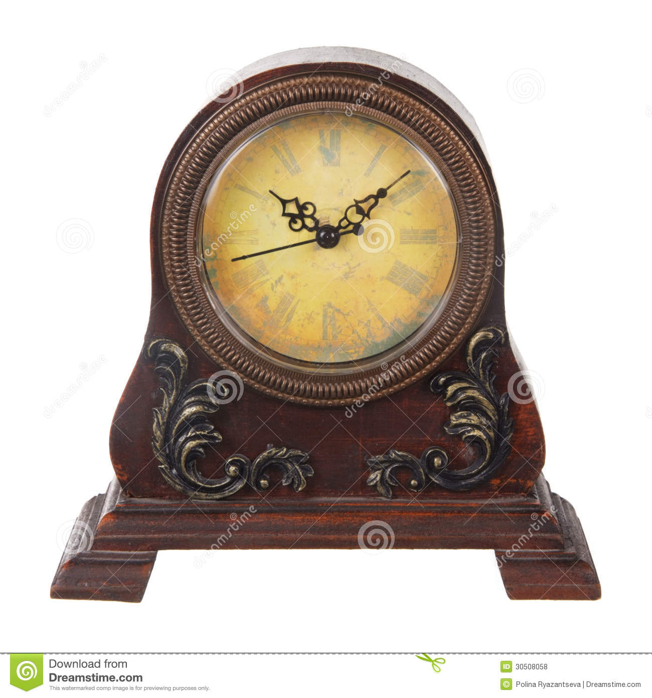 Exceptional Vintage Table Clock