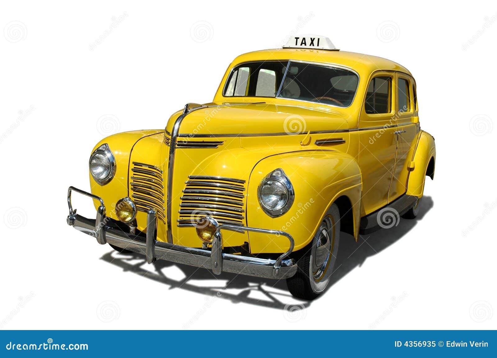 vintage taxi stock image image of steel antique bumper 4356935. Black Bedroom Furniture Sets. Home Design Ideas