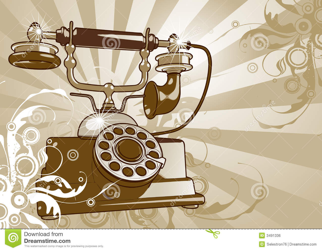 How To Wire A Rotary Phone Ring Schematics Data Wiring Diagrams Payphone Diagram Vintage Telephone Royalty Free Stock Image 3491336 Old