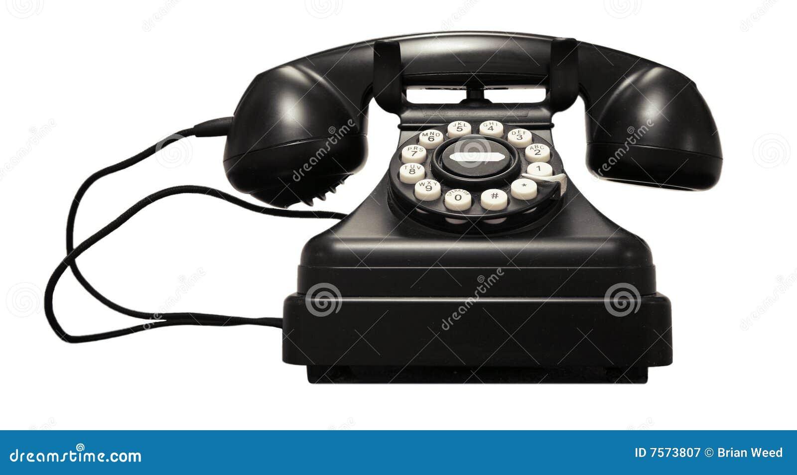 vintage telephone royalty free stock photography image 7573807. Black Bedroom Furniture Sets. Home Design Ideas