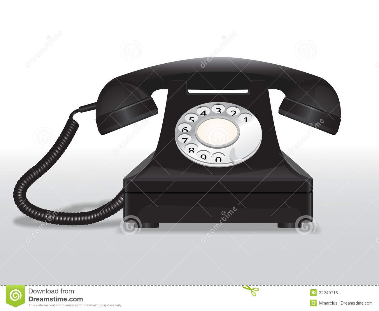 Vintage telephoneVintage Telephone Illustration