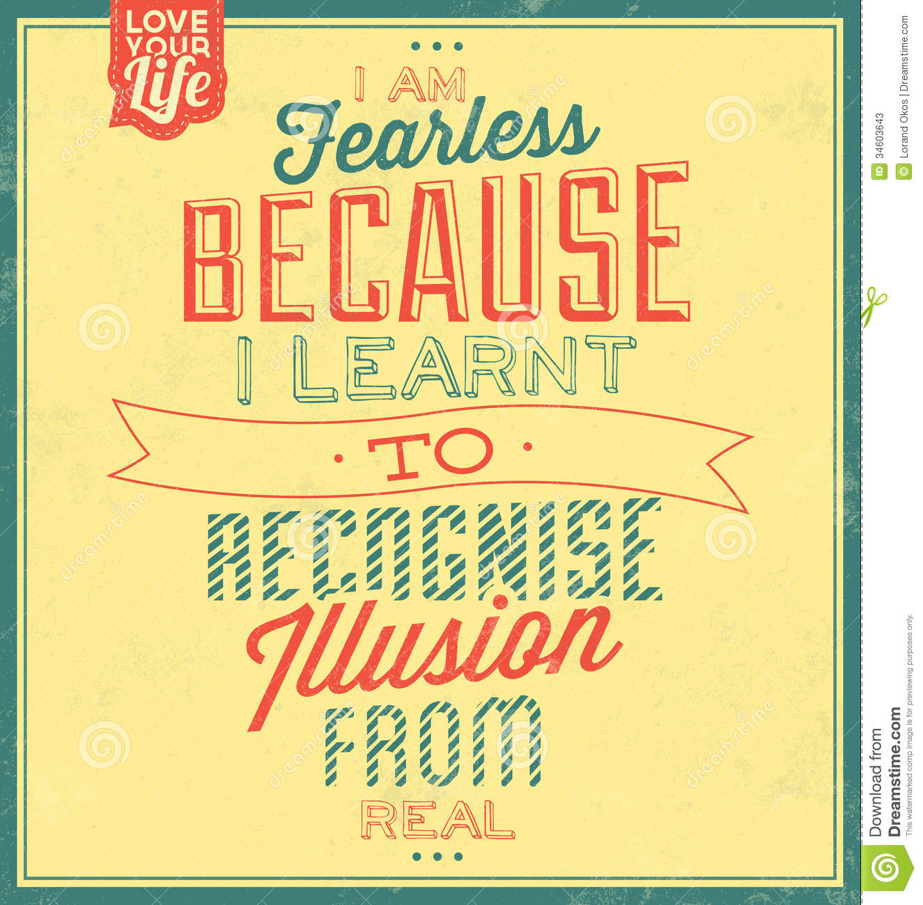 vintage template retro design quote typographic background stock