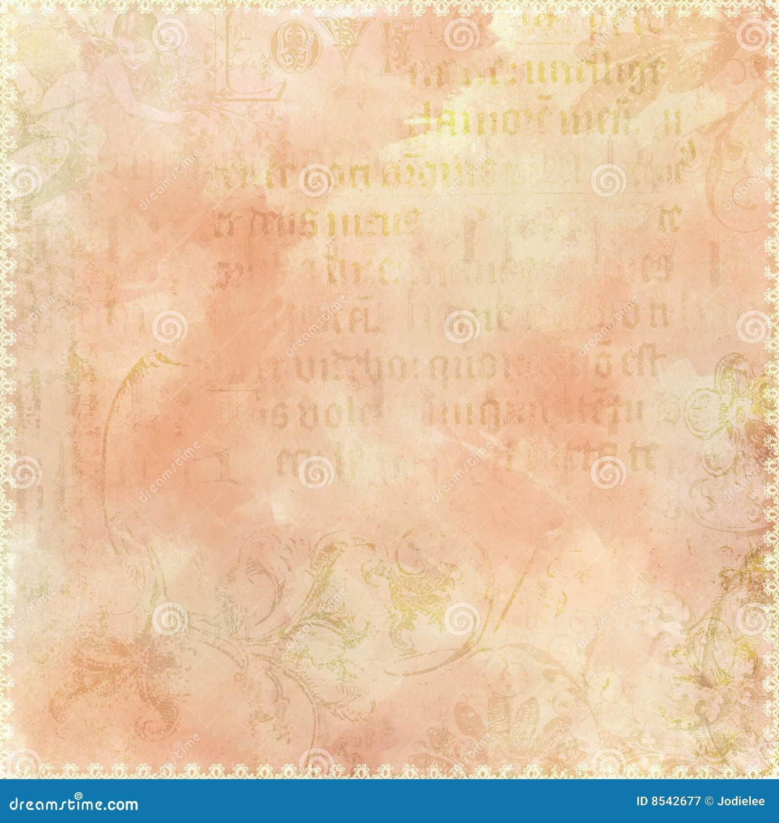 Vintage text antique background theme