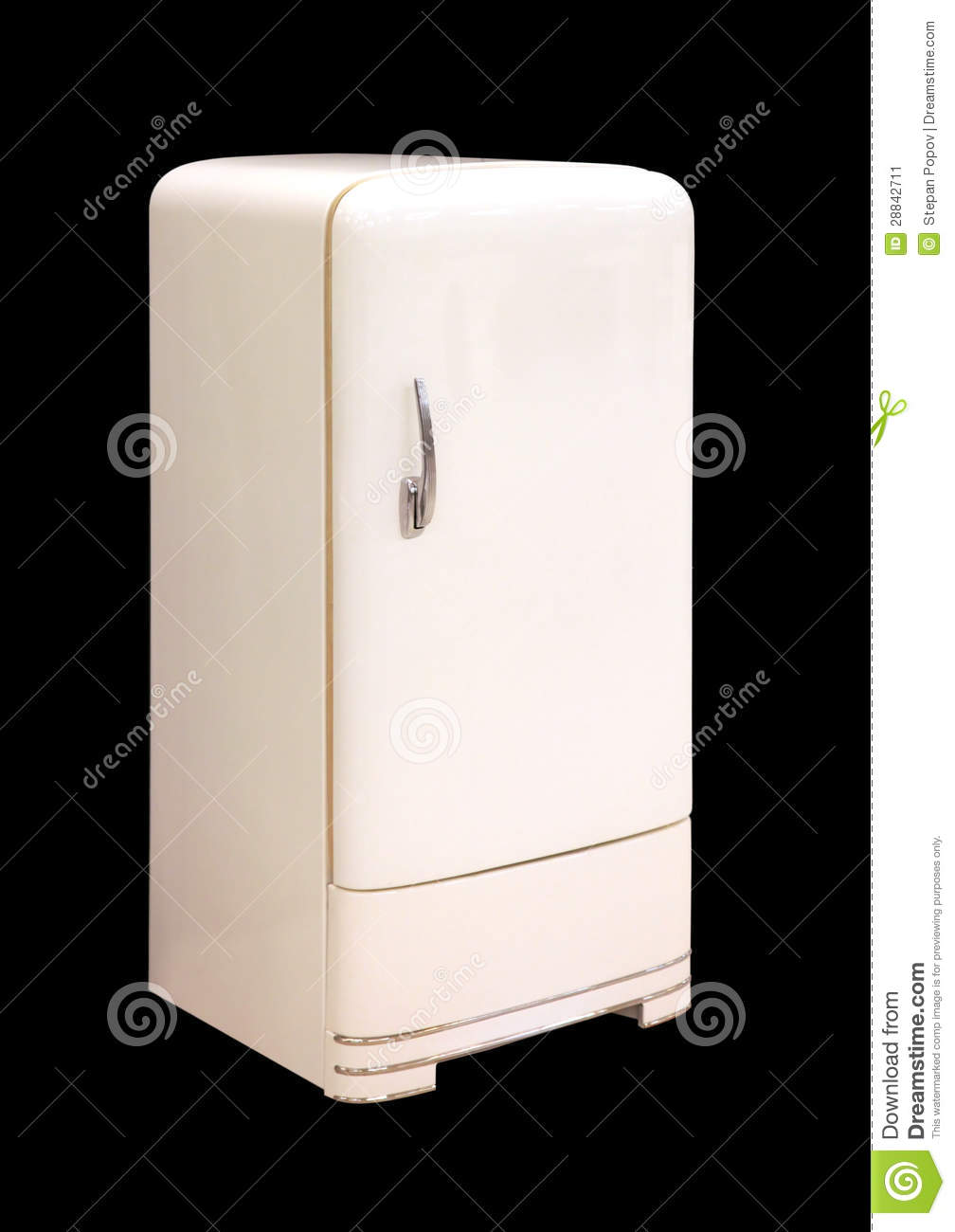 Vintage Things. Old Refrigerator Stock Image - Image: 28842711