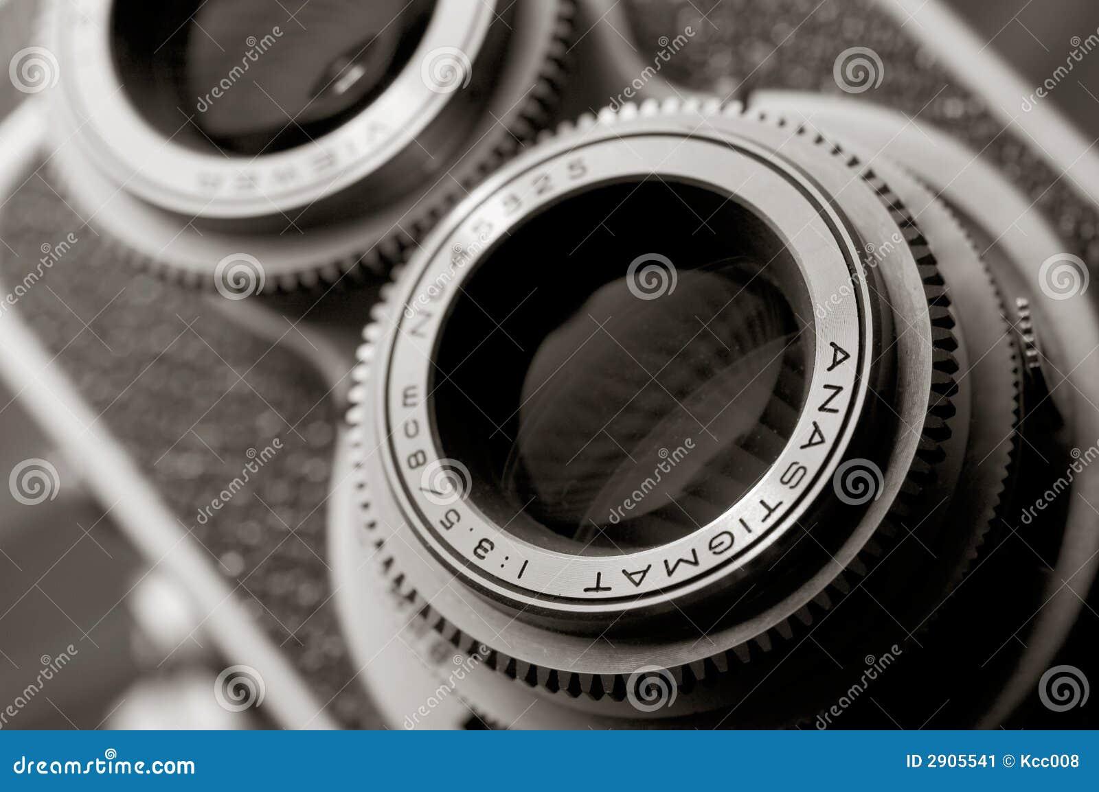 Vintage TLR camera