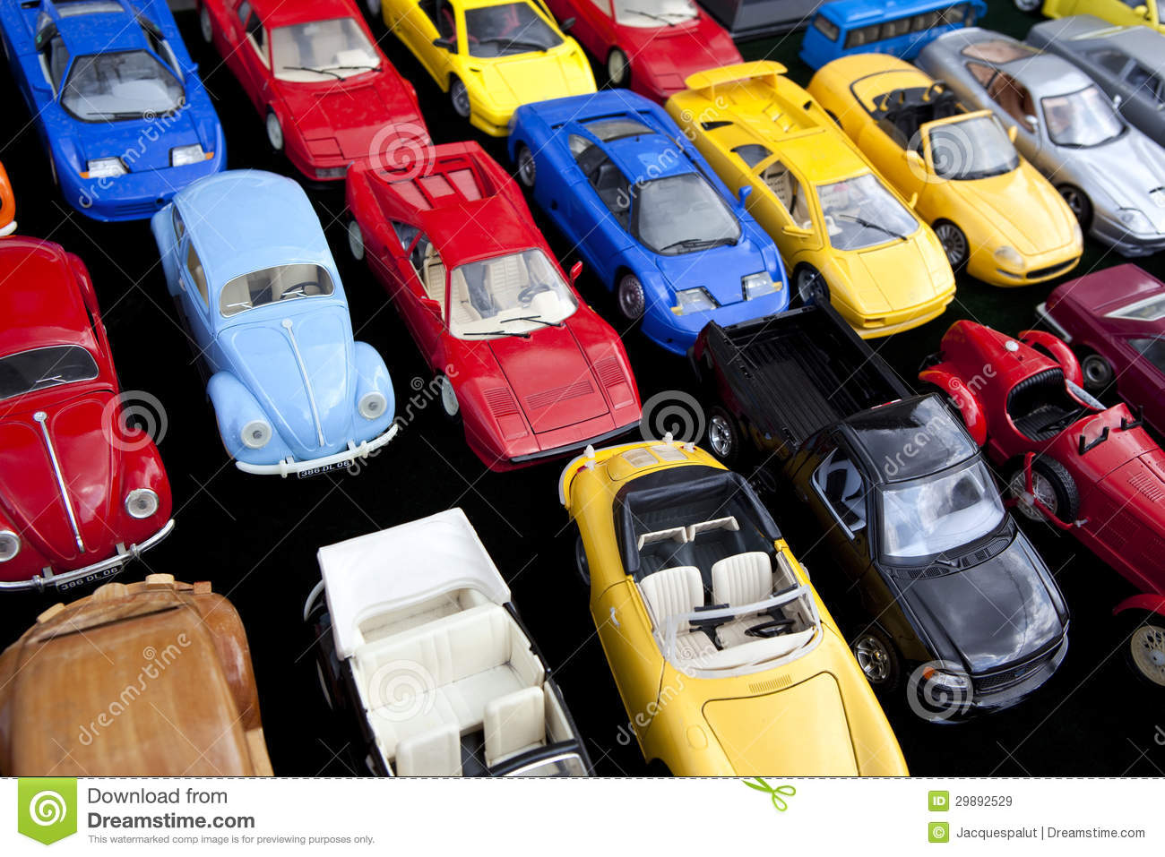 Toy cars stock image image of blue garage flea vehicle for Garage market cars montpellier