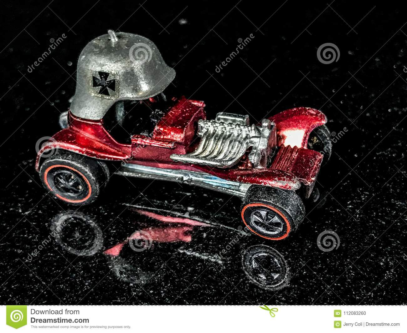 Vintage Toy Hot Wheel The Red Baron Editorial Image Image