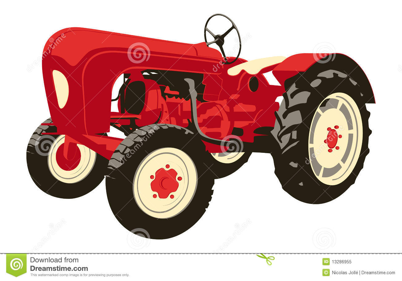 vintage tractor clipart - photo #9