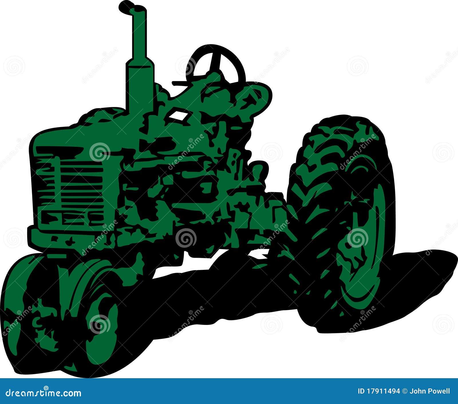 Tractor Pull Clip Art Vector : Vintage tractor clip art stock illustration