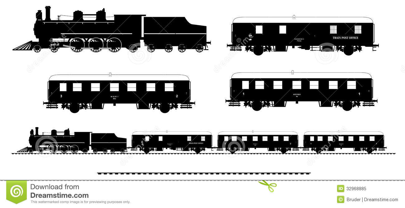 Steam Locomotive Silhouette | www.imgkid.com - The Image ...