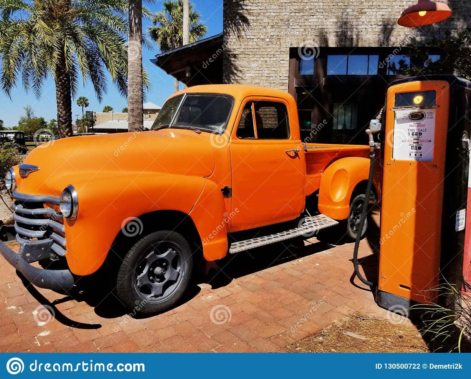Vintage Truck and Pump 1