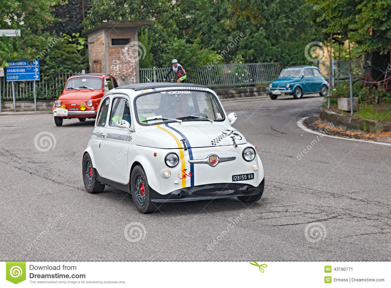 Vintage Tuning Fiat 500 Abarth Editorial Photo Image