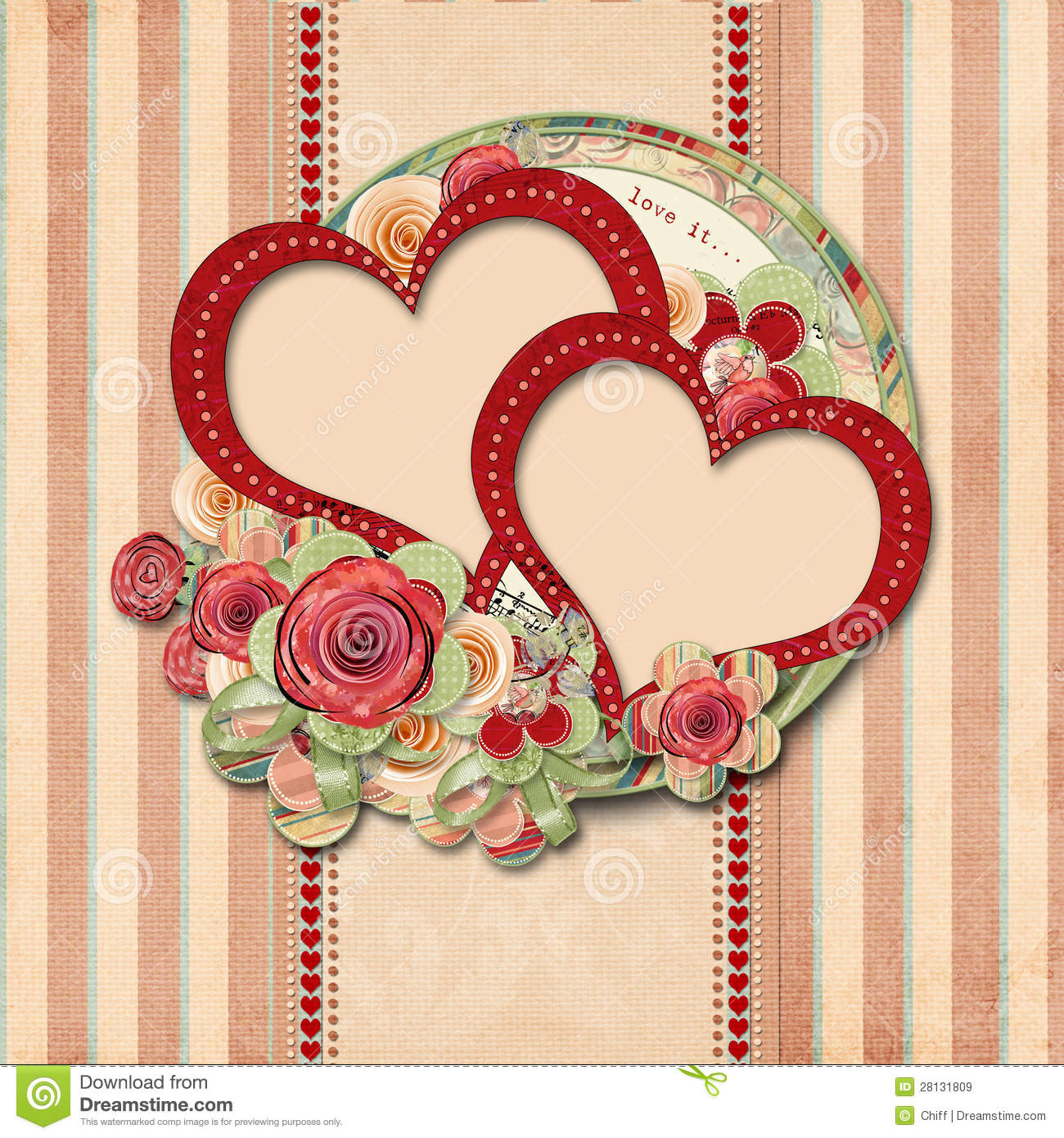 vintage valentine background valentines - photo #20