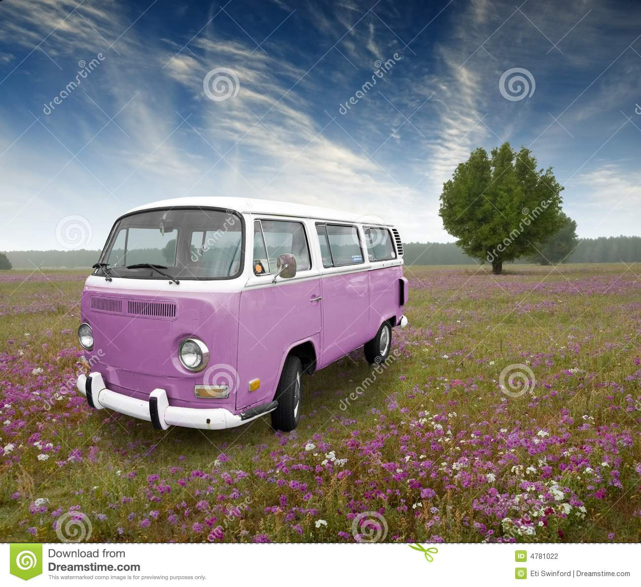Vw Bug Camper >> Vintage van stock photo. Image of trip, wagon, nostalgia - 4781022