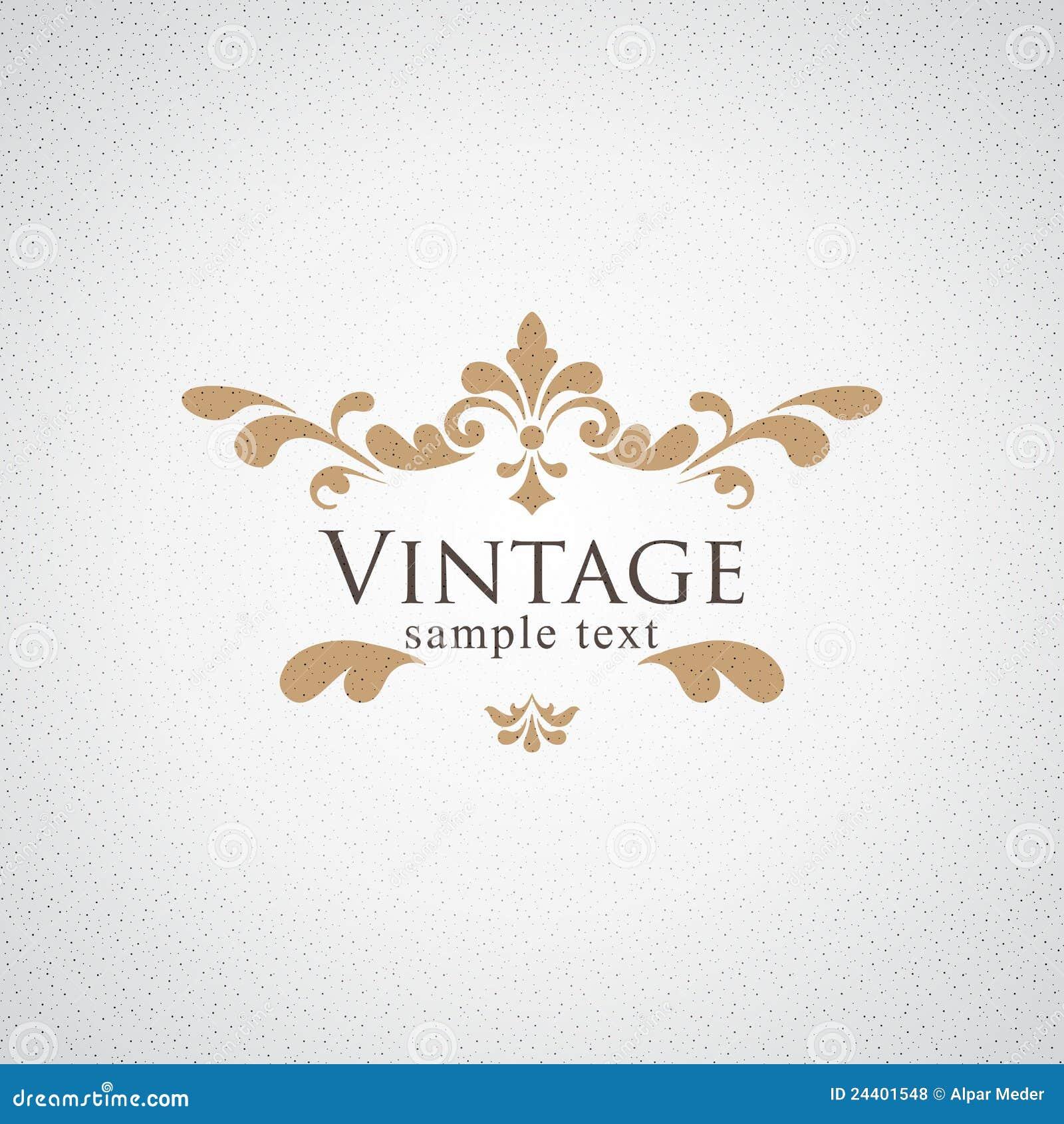 Vintage Ornament Clipart