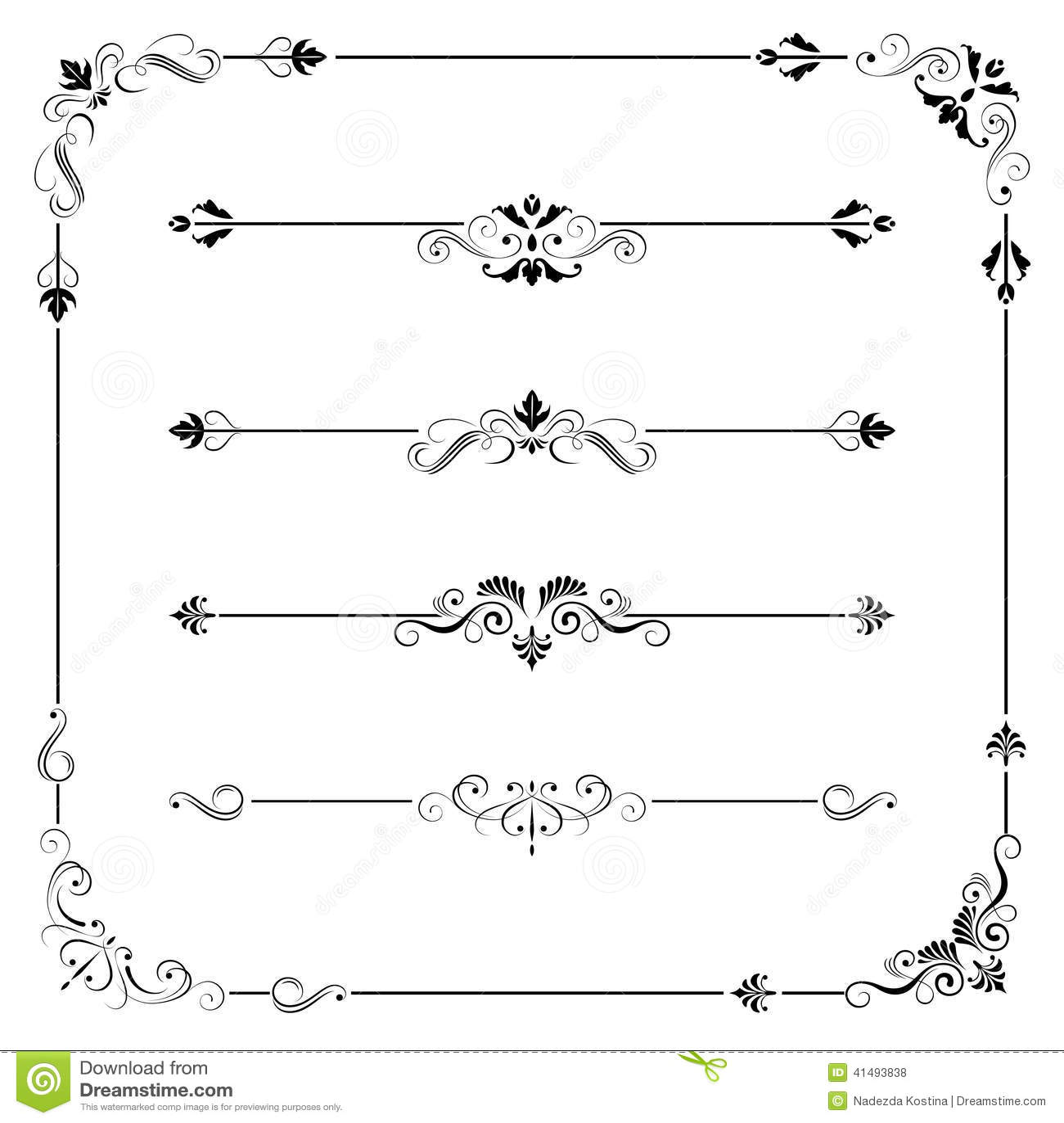 Divider Stock Illustrations, Vectors, & Clipart – (6,521 Stock ...