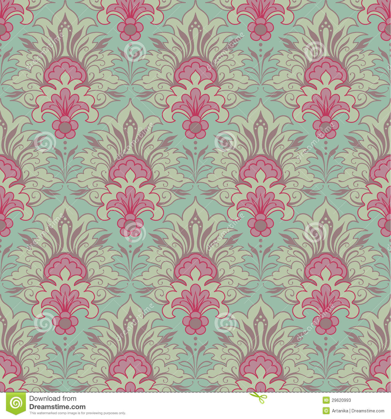 victorian wallpaper seamless - photo #8