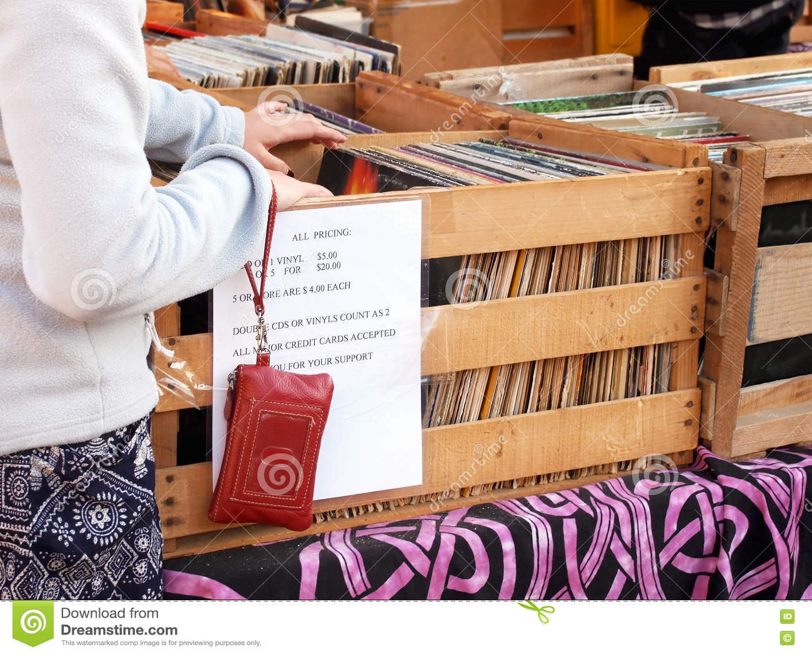 vintage vinyl record shopping stock photo image of shopping vinyl